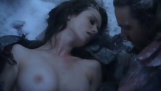 Nude Celebrities in the do a snow job on