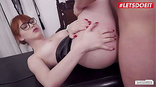 LETSDOEIT - #Anny Aurora #Jason Steel - Sex Interview With A Big Ass Teen Babe And A Perv Bigwig