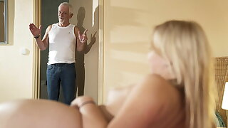 Devoirs grandpa, please fuck my pussy with an increment of entertain me swallow cum