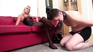 sniff my feet virgin from boots