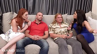 Trickery - Bored Wifes Sheena Ryder added to Lacy Lennon Swap Husbands