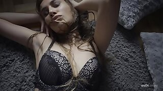 SEXY Toddler IN EROTIC LINGERIE Plus STOCKINGS TEASING IN THE BEDROOM FOR NUDEX