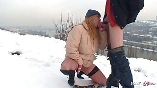 Real Czech Teen Street Whore Has Bareback Outdoor Sex be expeditious for Cash